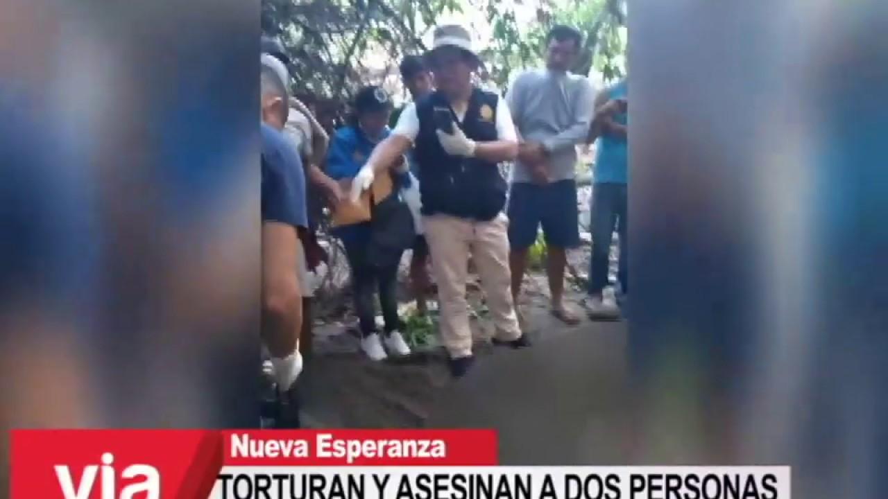 Torturan y asesinan a dos personas en el valle del río Huayabamba