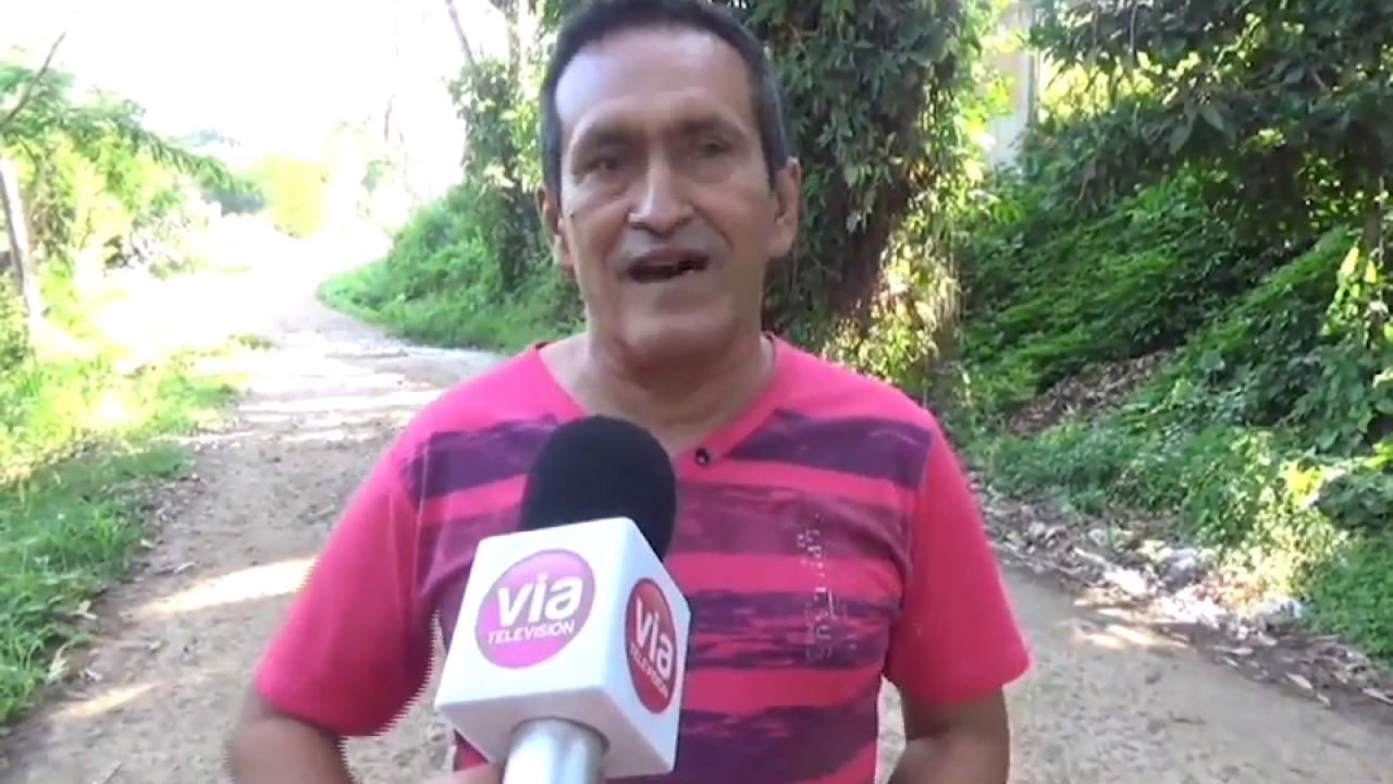 Vecinos de Villa Autónoma exigen mejoramiento de vía de acceso