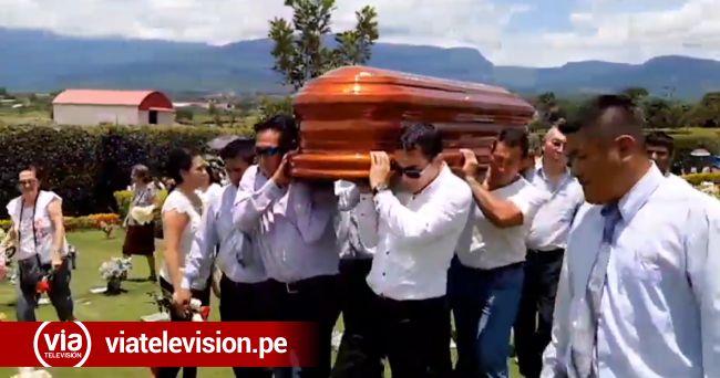Sepultan a empresario asesinado de un disparo en la cabeza en La Banda de Shilcayo