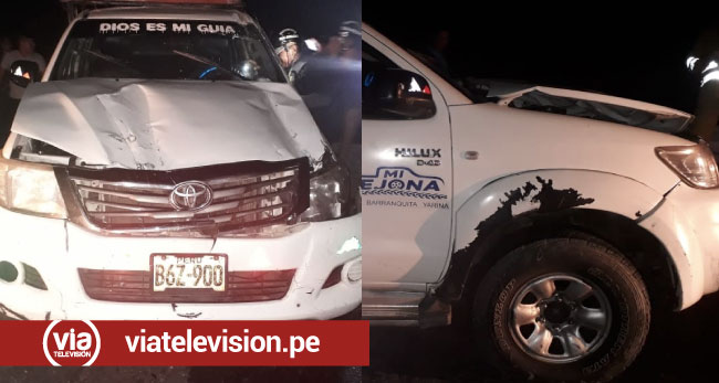 Accidente en la carretera Tarapoto – Yurimaguas