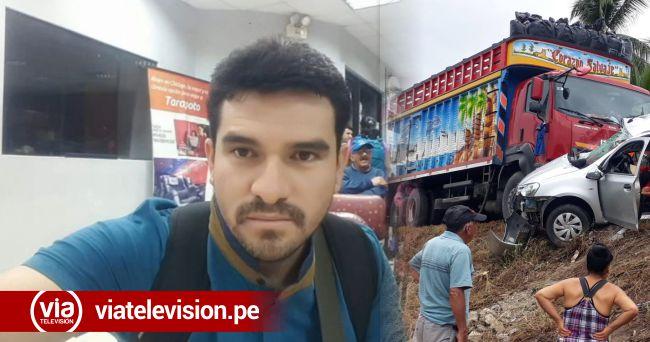 En accidente de tránsito mueren 4 personas, entre ellas un trabajador del GORESAM