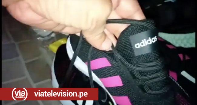 Incautan zapatillas valorizadas en 21 mil soles sin documentación