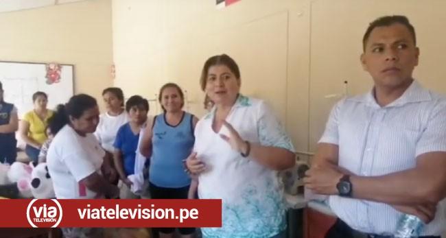 Integrantes del colectivo Alto Mayo llevan apoyo a internas del penal