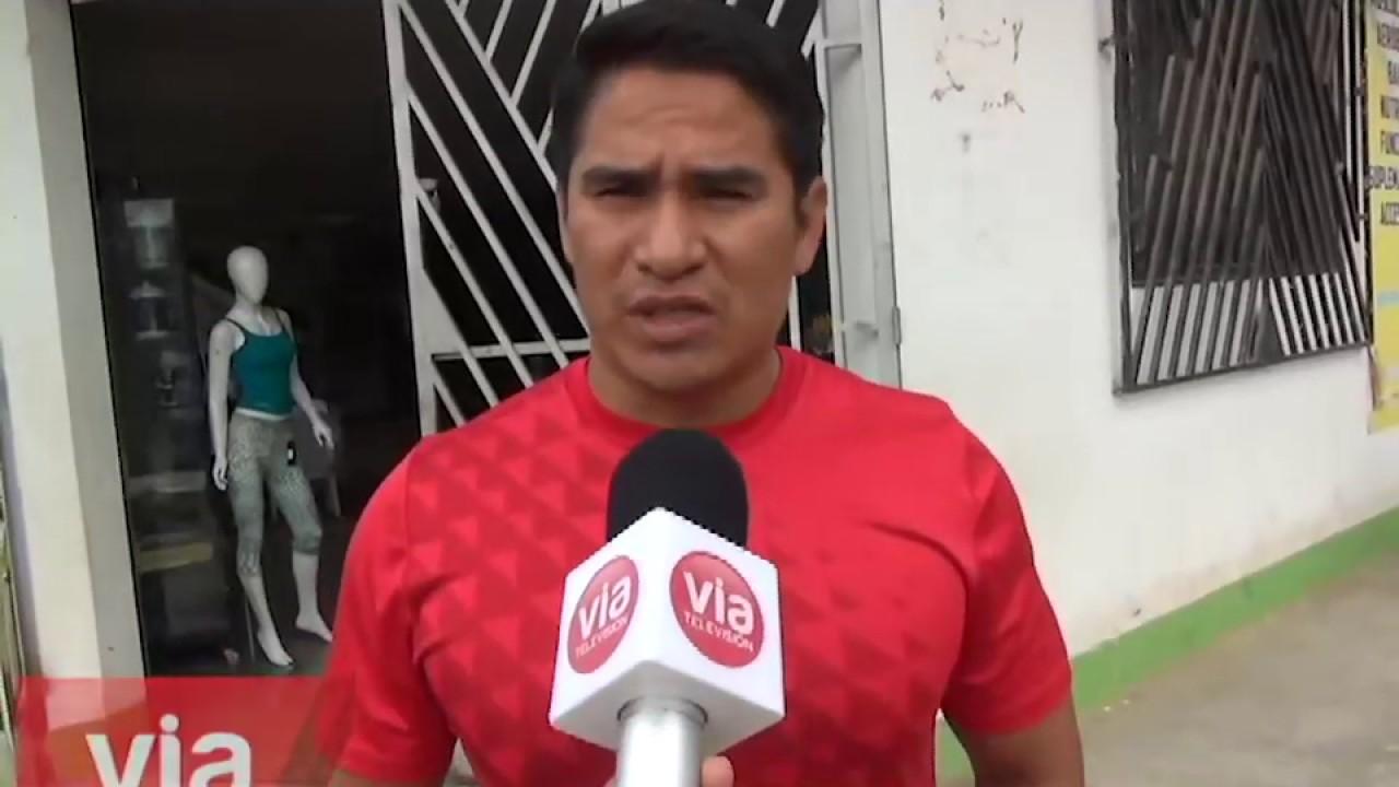 Anuncian marcha por pésimo servicio  de Emapa San Martín