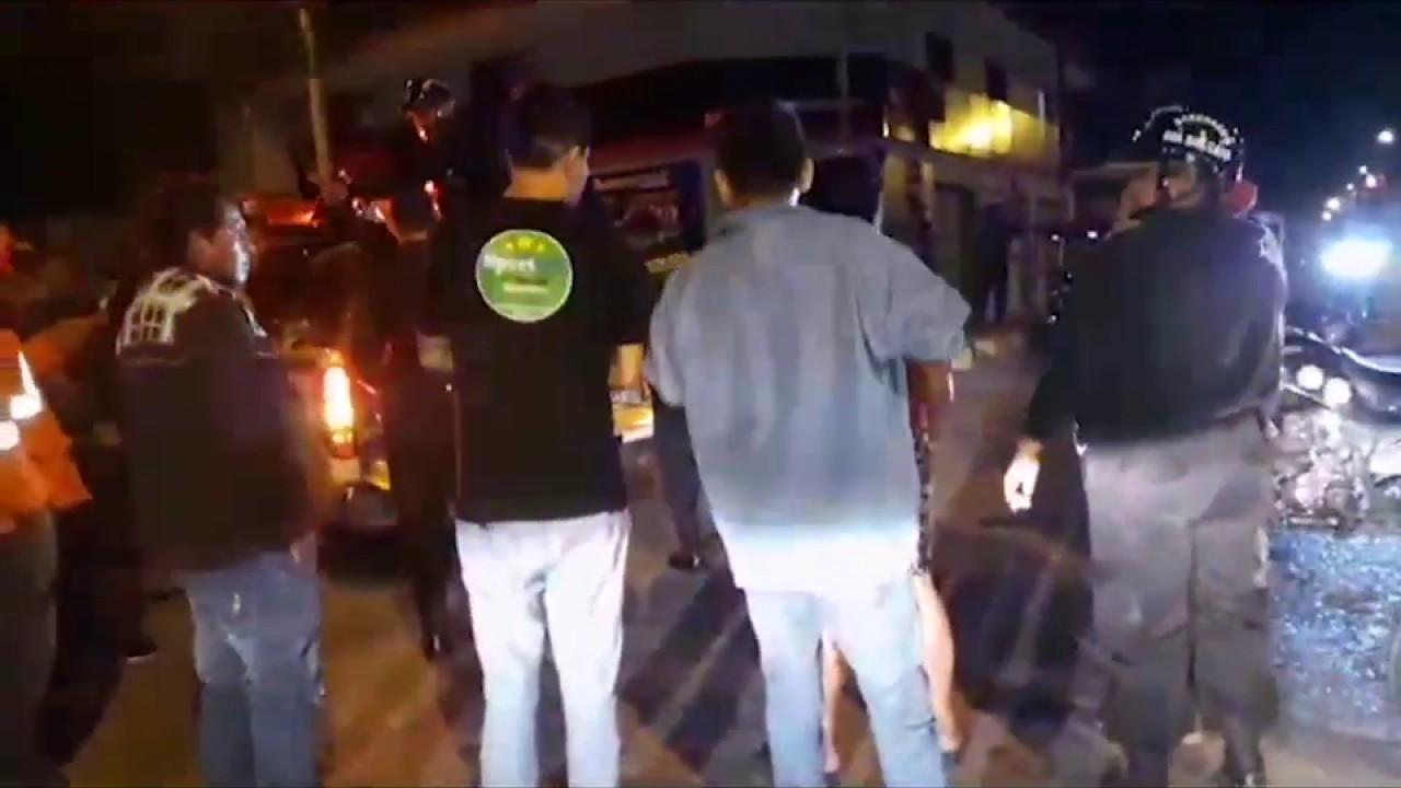 Tarapoto: accidente de tránsito deja dos personas heridas