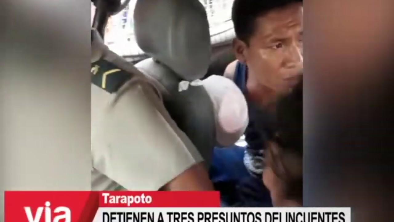 Detienen a tres presuntos delincuentes en Las Lomas de San Pedro