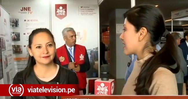 Alianza entre el canal del Jurado Nacional de Elecciones y VIA Televisión