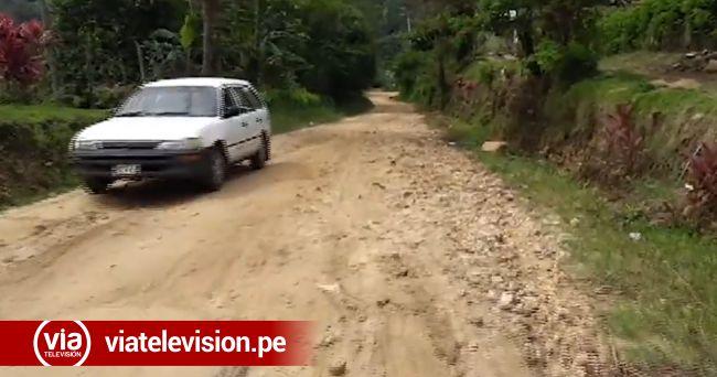 San Antonio de Cumbaza: modifican expediente de  importante obra al sector La Loma