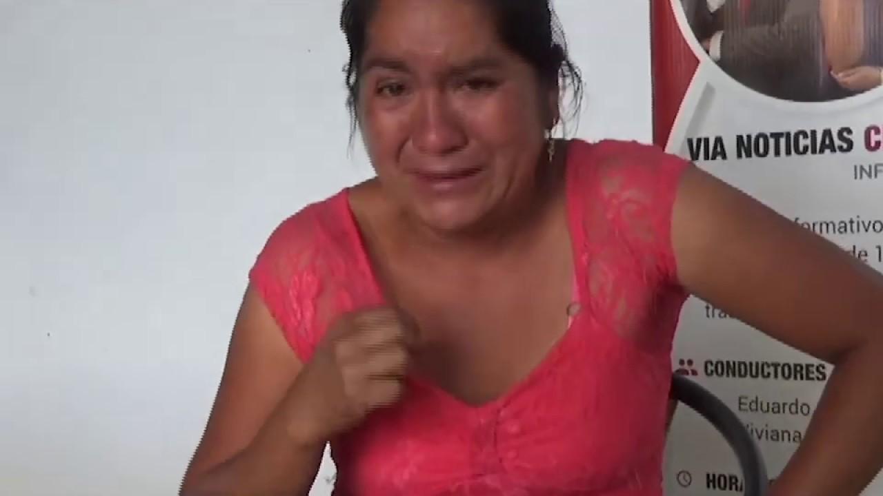Madre de familia busca a su menor hijo que desapareció tras acudir al colegio