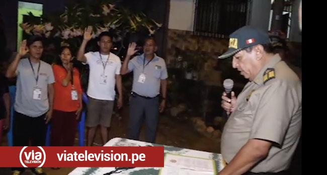 Morales: pobladores se organizan para hacerle frente a la delincuencia