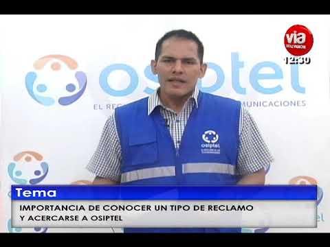 OSIPTEL: IMPORTANCIA DE CONOCER COMO REALIZAR UN RECLAMO