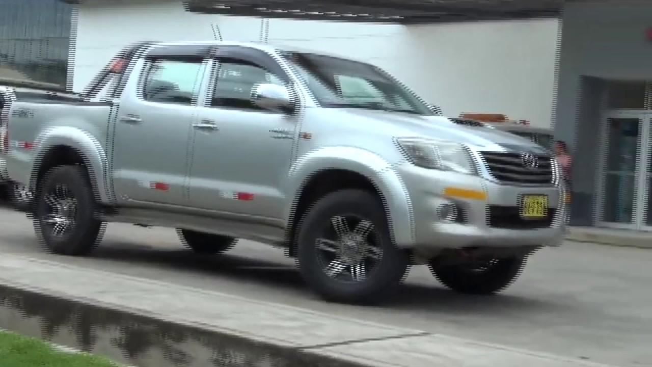 Tarapoto: camioneta arrolla a un anciano quien resulta gravemente herido