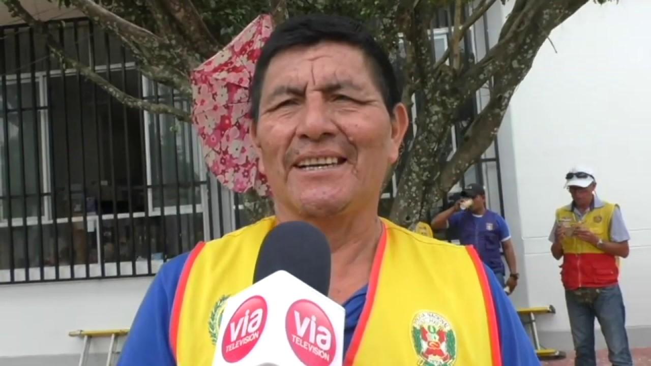 Tarapoto: ciudadanos reconocen como único presidente a Martín Vizcarra