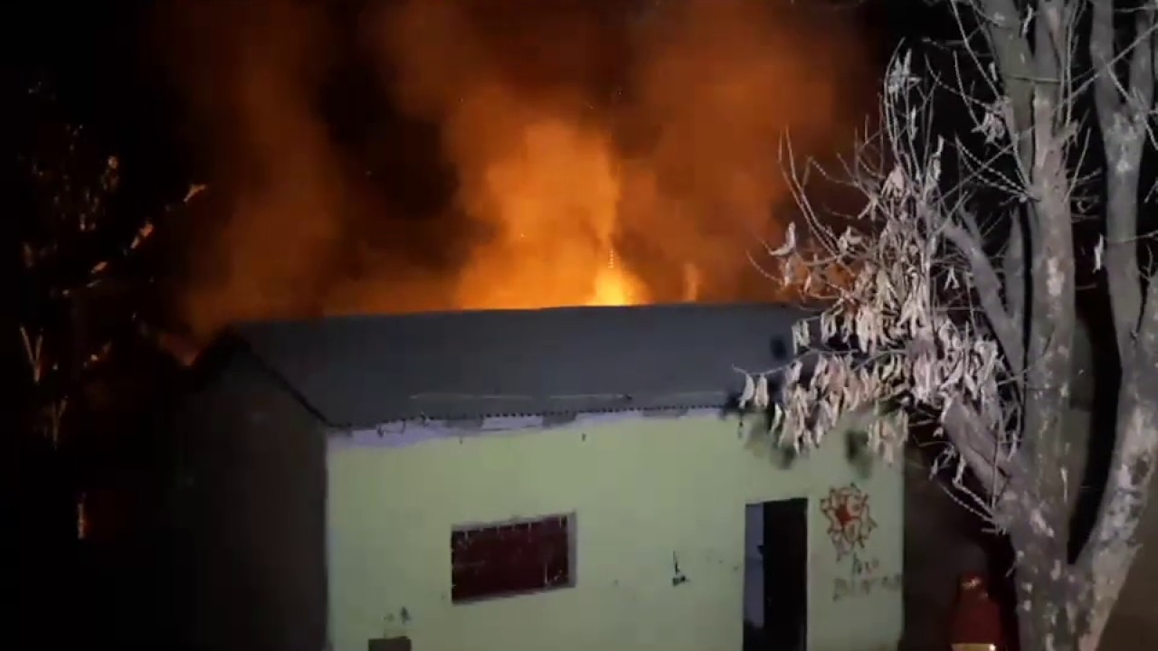 Tarapoto: incendio en vivienda causa zozobra en vecinos