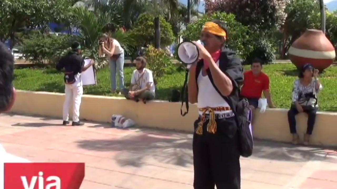 Tarapoto: indígenas protestan exigiendo titulación de sus tierras