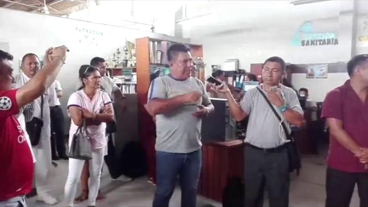 Trabajadores de salud solicitaran destitución de Director de Unidad Ejecutora 402