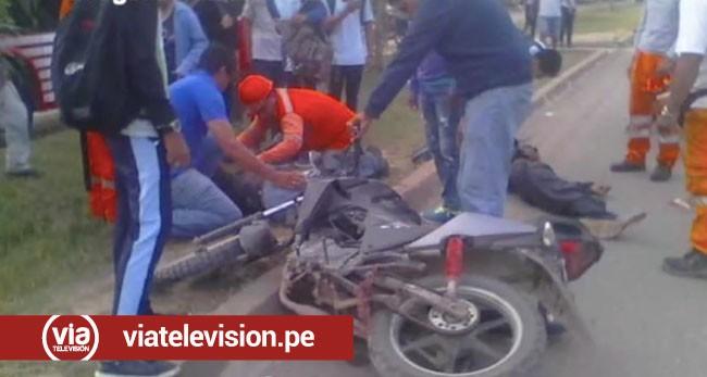 Picota: anciano muere tras ser atropellado por motociclista