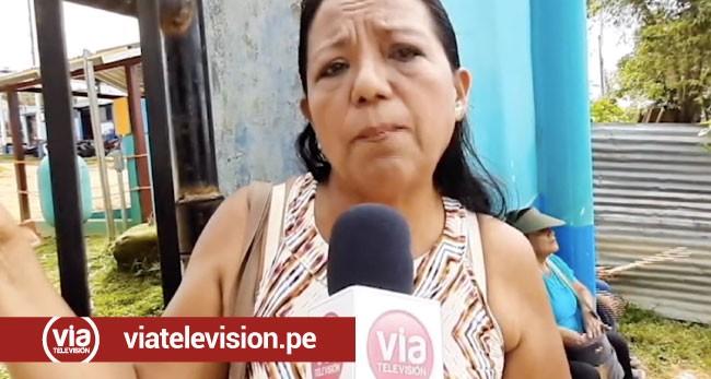 Tarapoto: protestan frente a la planta de Emapa por pésimo servicio