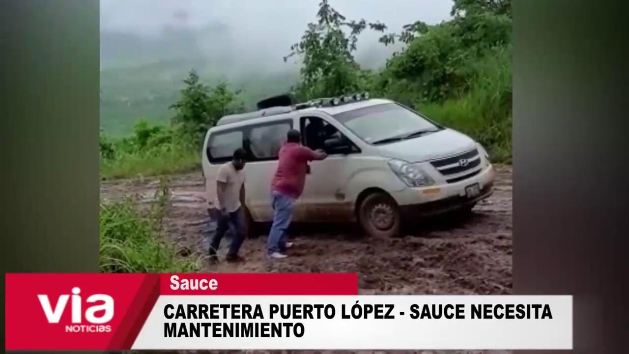 Carretera hacia el distrito turístico de Sauce necesita mantenimiento