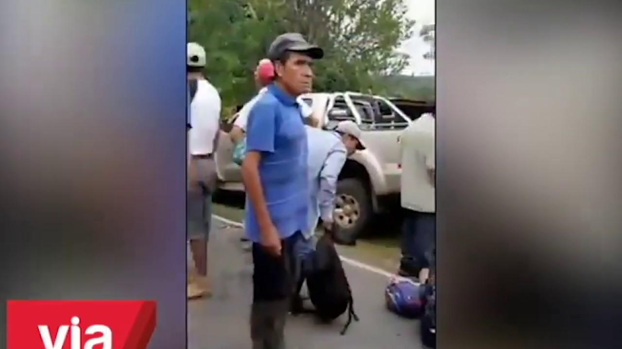 Juanjui: choque de camión y motocar deja 2 muertos y 4 heridos