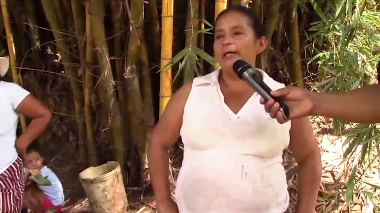 Por contaminación de quebrada exigen servicio de agua en centro poblado de Pampa Hermosa