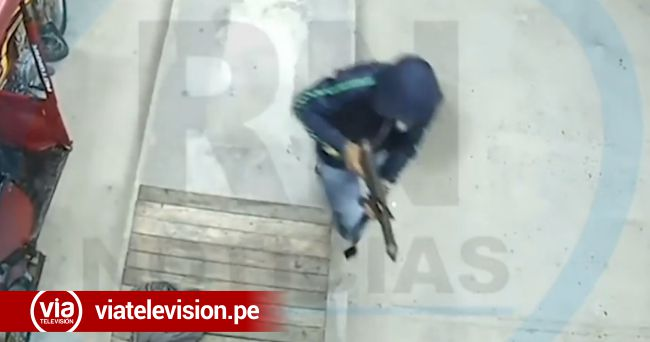 Yurimaguas: asaltan a grifo empleando al parecer arma de guerra
