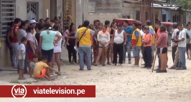 Suspenden orden de desalojo a varias familias en la AA.VV Santa Isabel