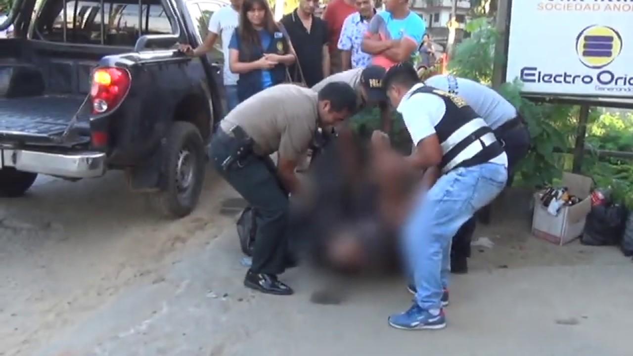 Encuentran cadáver de reciclador en la carretera Fernando Belaunde Terry