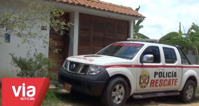 Tarapoto: intervienen a dos personas sindicadas  de pertenecer a banda de estafadores
