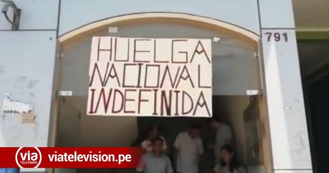Bellavista: docentes y trabajadores del Poder Judicial participan en jornada de lucha