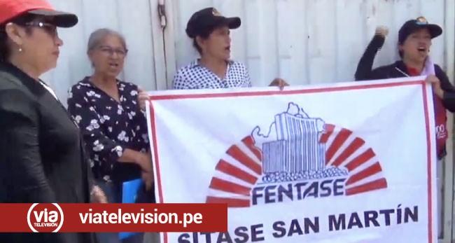 Trabajadores administrativos del sector educación acatan huelga indefinida