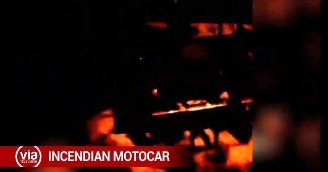 Sindican a barristas de quemar  motokar de vecino de Pachacutec