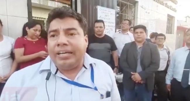 Trabajadores administrativos del INPE acatan paro nacional de 24 horas