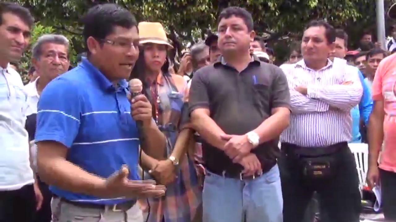 Lamas: firmarán de contrato con empresa para mejorar vías de acceso al valle del Pasiquihui