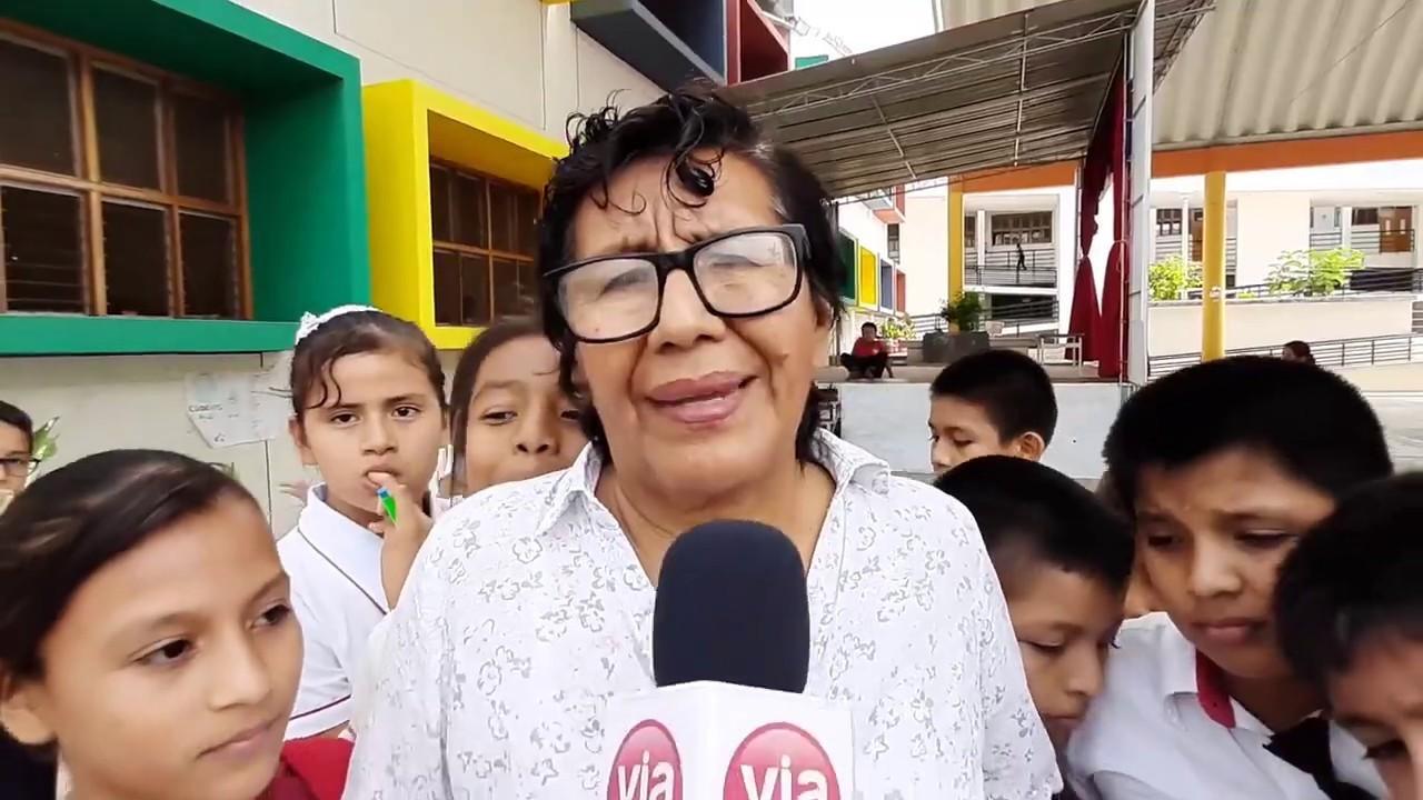 Lucinda Vásquez afirma que clases se desarrollaron con normalidad