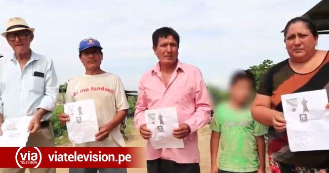 Morales: empleando panfletos amenazan de muerte a pobladores de AA.VV