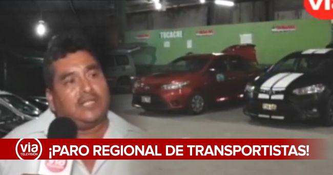 Lo último: transportistas de la región San Martín acatarán paro nacional
