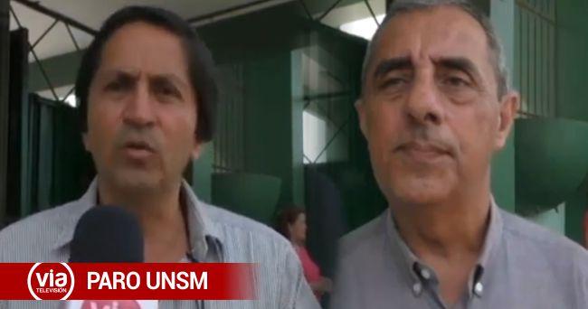 Tarapoto: Docentes de la Universidad Nacional de San Martín acatan paro de 24 horas