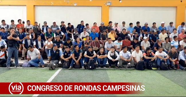 Tarapoto: Sexto Congreso Regional de Rondas congrega a cerca de mil ronderos