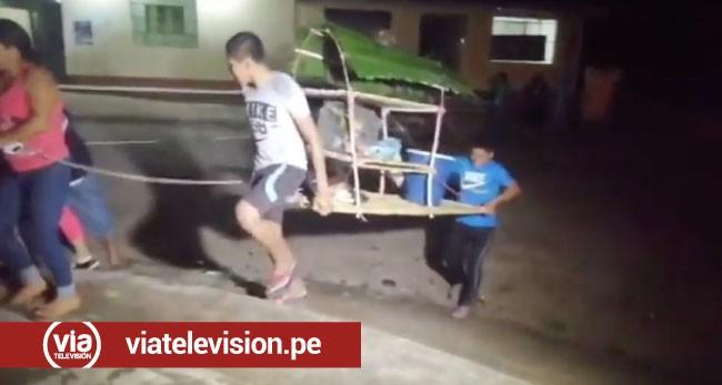 Realizan simulacro de inundación en la zona del Huallaga Central