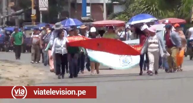 Trabajadores administrativos de la UNSM acatan paro de 72 horas