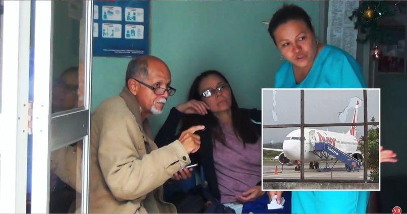 Pasajeros de avión venezolano fueron atendidos en clínica de Tarapoto