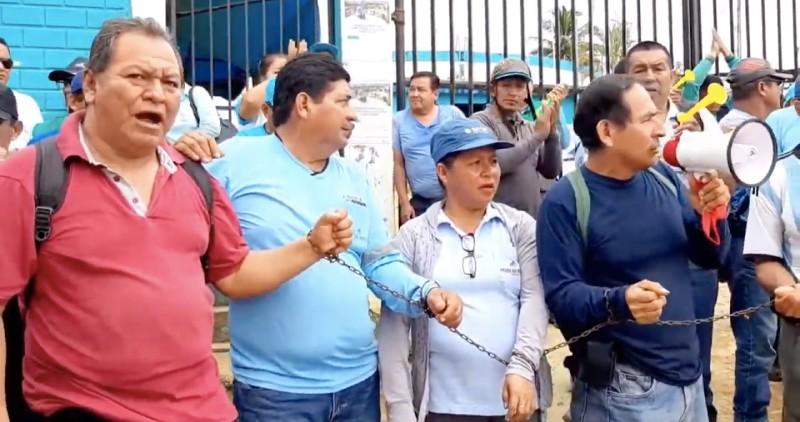 FRECIDES respalda medida de fuerza de trabajadores de EMAPA