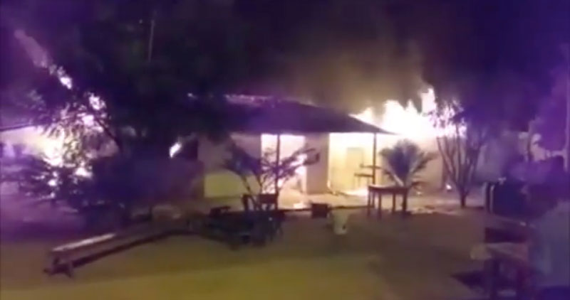 Navidad: incendio afecta dos viviendas y damnificados esperan apoyo solidario