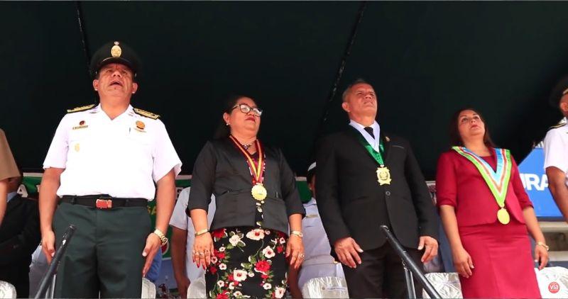 Tarapoto: Macro Región Policía celebra día central de la Policía Nacional