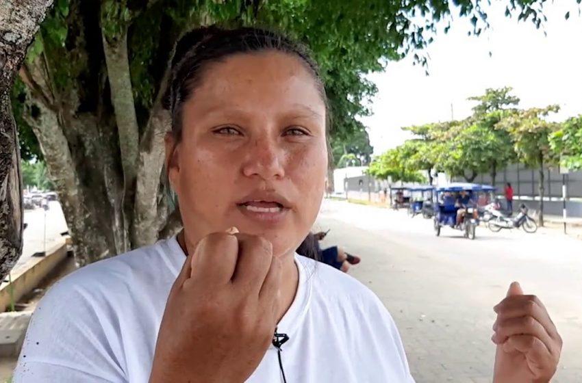 Madre de familia pide ayuda para su hijo que fue herido de bala