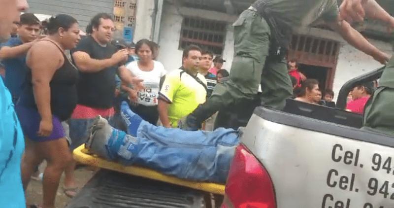 Vendedor de carne fue asesinado de tres impactos de bala en Nueva Cajamarca