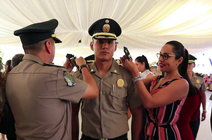 Tarapoto: 69 policías ascienden al grado inmediato superior