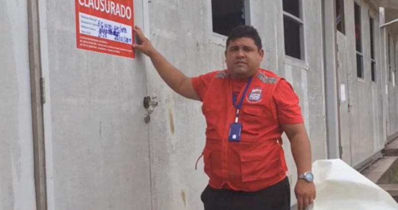 Declaran inhabitable local de contingencia del colegio Abrahán Cárdenas Ruiz