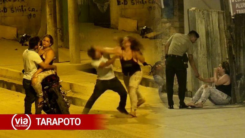 Tarapoto: mujer se defendió a puñetazos tras ser golpeada por su pareja